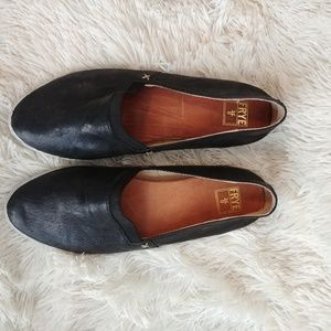 Frye leather slip on